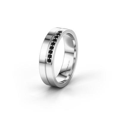 Ehering WH0213L15AP 925 Silber Schwarz Diamant ±5x1.7 mm