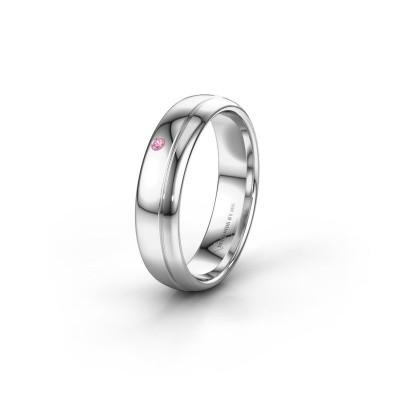 Ehering WH0301L35AP 925 Silber Pink Saphir ±5x1.7 mm