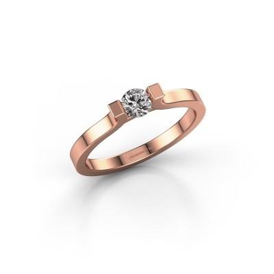 Foto van Verlovingsring Jodee 375 rosé goud lab-grown diamant 0.50 crt