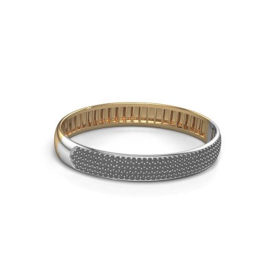 Picture of Bangle Emely 10mm 585 gold black diamond 5.226 crt