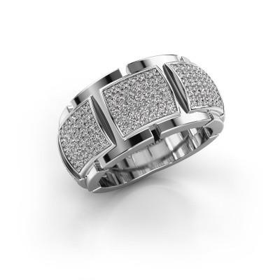 Foto van Ring Laura 585 witgoud diamant 0.75 crt