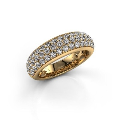 Picture of Ring Emely 8 375 gold zirconia 1.9 mm