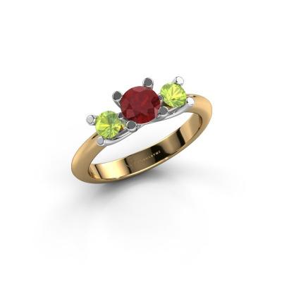 Ring Mirthe 585 Gold Rubin 5 mm