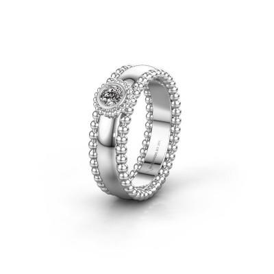 Trouwring WH3053L16A 925 zilver diamant ±6x1.7 mm