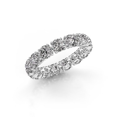 Foto van Ring Vivienne 4.2 585 witgoud lab-grown diamant 4.50 crt