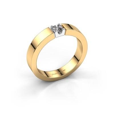 Foto van Belofte ring Dana 1 585 goud lab-grown diamant 0.20 crt