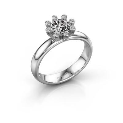 Stapelring Carola 3 950 platina lab-grown diamant 0.84 crt