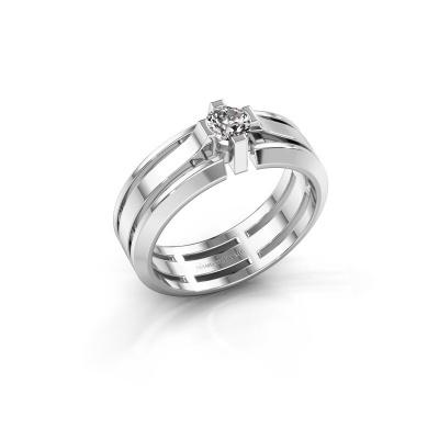 Herrenring Sem 950 Platin Diamant 0.40 crt