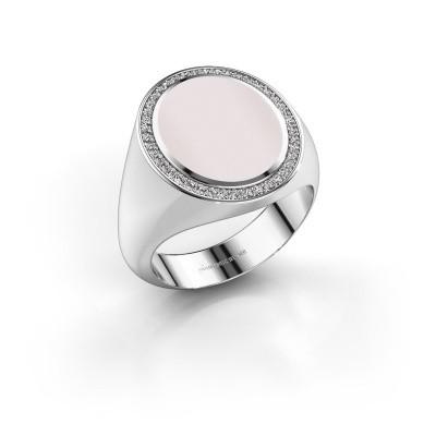 Signet ring Adam 4 950 platinum red sardonyx 15x12 mm