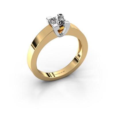 Foto van Promise ring Anne 1 585 goud diamant 0.40 crt