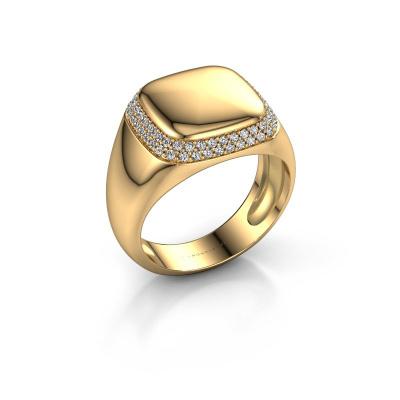 Foto van Heren ring Pascal 585 goud diamant 0.482 crt