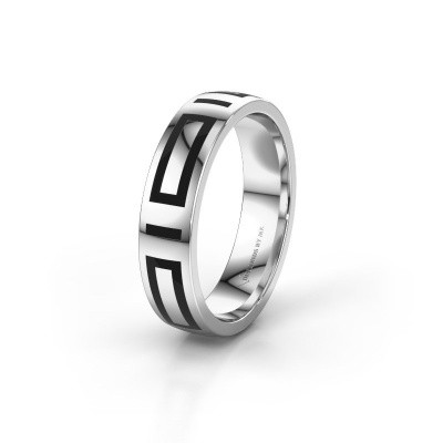 Picture of Wedding ring WH2228M25A 585 white gold ±0.20x0.07 in