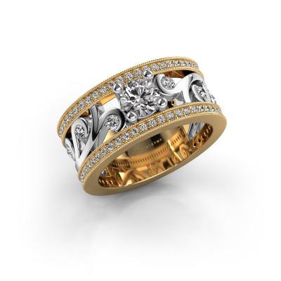 Foto van Ring Sanne 585 goud zirkonia 5 mm