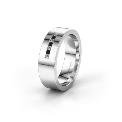 Alliance WH0108L16BP 950 platine diamant noir ±6x2 mm