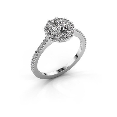 Foto van Verlovingsring Misti 2 585 witgoud diamant 0.92 crt
