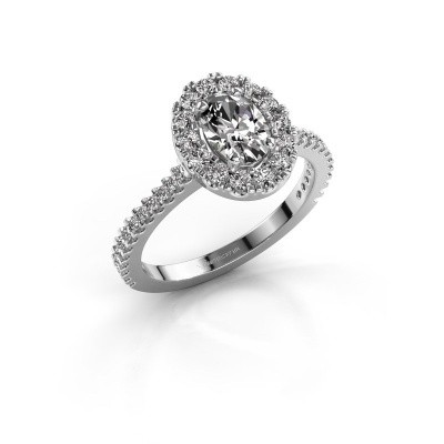 Verlovingsring Jorinda 2 925 zilver diamant 1.275 crt