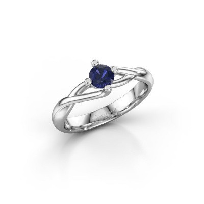 Picture of Ring Paulien 585 white gold sapphire 4.2 mm