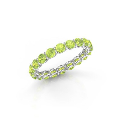 Picture of Ring Kirsten 2.9 950 platinum peridot 2.9 mm