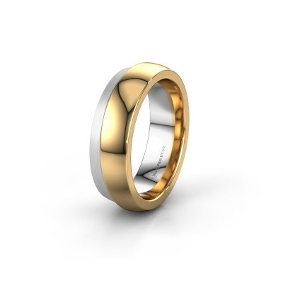 Wedding ring WH6004L26C 585 gold ±6x2.2 mm