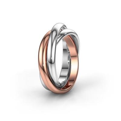 Ring TRINITY 585 Roségold
