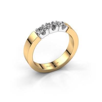 Foto van Verlovingsring Dana 3 585 goud lab-grown diamant 0.450 crt
