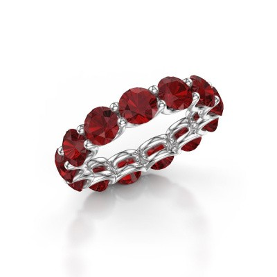 Picture of Ring Kirsten 5.0 585 white gold ruby 5 mm