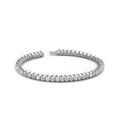 Foto van Tennisarmband Patrica 585 witgoud diamant 2.75 crt