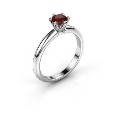 Picture of Engagement ring Tiffy 1 925 silver garnet 5 mm
