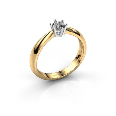 Verlovingsring Fay 585 goud diamant 0.25 crt