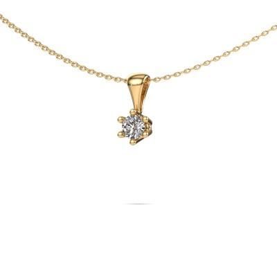Foto van Ketting Fay 375 goud diamant 0.25 crt