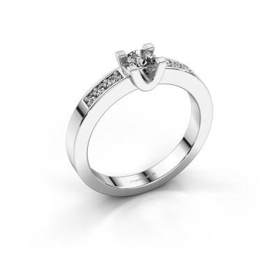Foto van Verlovingsring Sara 2 585 witgoud diamant 0.25 crt