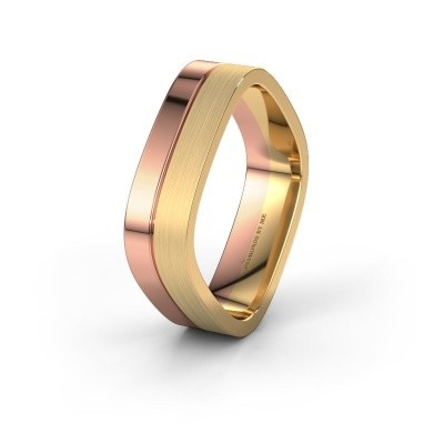 Wedding ring WH6030M16A 585 rose gold ±6x1.7 mm