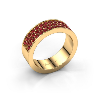 Ring Lindsey 6 585 gold ruby 1.7 mm