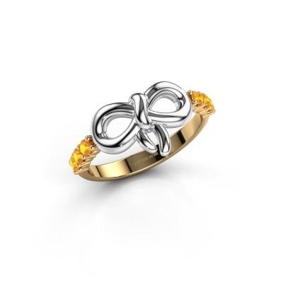 Ring Olympia 585 goud citrien 2.2 mm