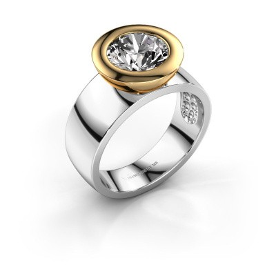 Ring Maxime 585 witgoud diamant 2.00 crt