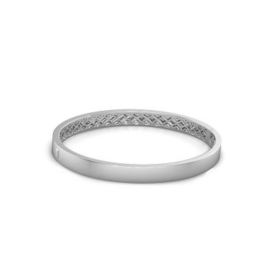 Photo de Bracelet jonc Aukje 6mm 950 platine