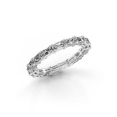 Foto van Ring Vivienne EME 4x2 585 witgoud diamant 2.55 crt