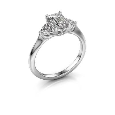 Foto van Verlovingsring Felipa EME 950 platina diamant 1.343 crt