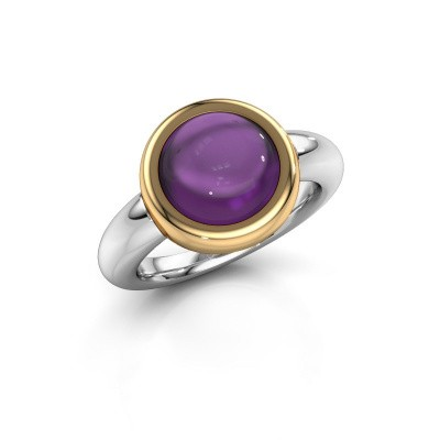 Ring Jenae 585 white gold amethyst 10 mm
