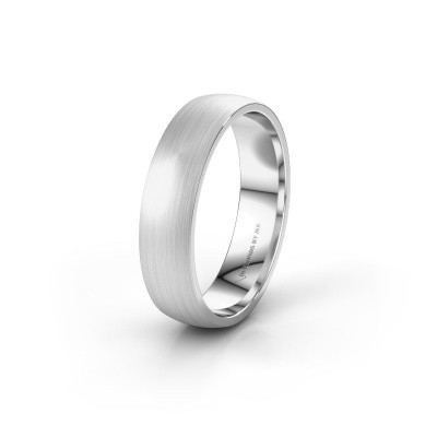 Wedding ring WH0154M25XM 925 silver ±0.20x0.06 in