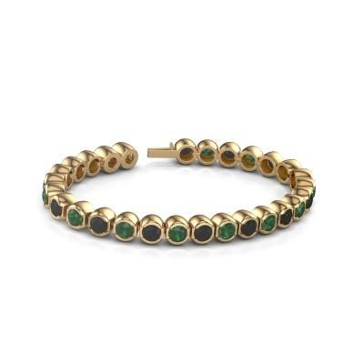 Foto van Tennisarmband Delma 375 goud smaragd 5 mm