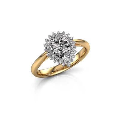 Bild von Verlobungsring Tilly per 1 585 Gold Diamant 0.95 crt