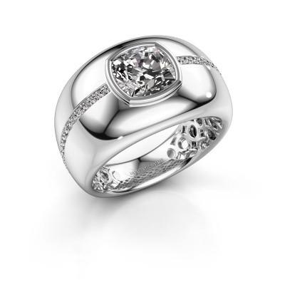 Foto van Ring Sydney 925 zilver diamant 3.21 crt