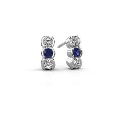 Bild von Ohrringe Lotte 585 Weißgold Diamant 0.40 crt