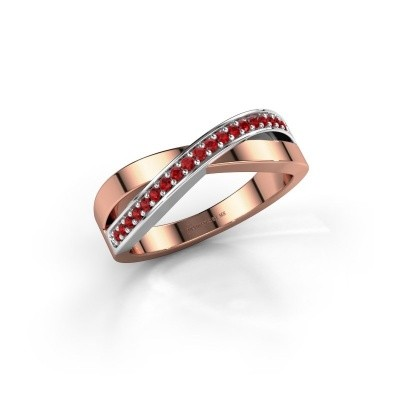Picture of Ring Kaley 585 rose gold ruby 1.2 mm