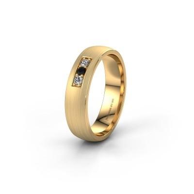 Ehering WH0110L25AM 585 Gold Schwarz Diamant ±5x1.7 mm