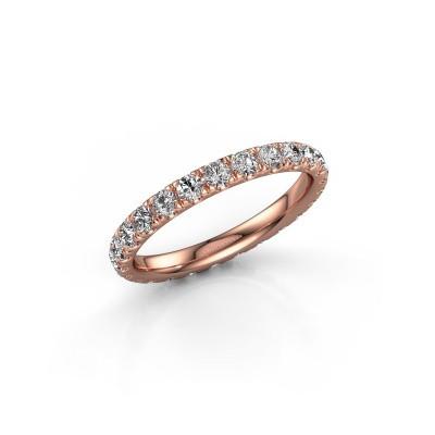 Foto van Ring Jackie 2.3 375 rosé goud lab-grown diamant 1.25 crt