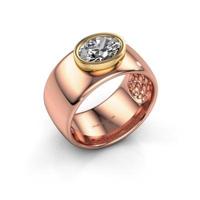 Ring Anouschka 585 Roségold Diamant 1.15 crt
