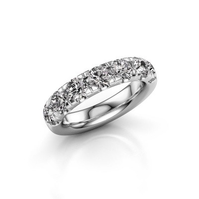 Picture of Stackable ring Jackie Half 950 platinum diamond 2.10 crt