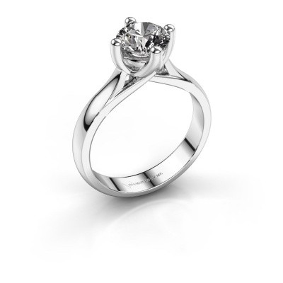 Engagement ring Janne 925 silver diamond 1.00 crt